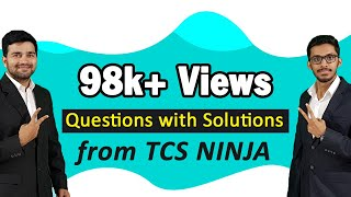 TCS NQTLatest Aptitude Questions|Questions with solutions from TCS Ninja 2018 ! Part 1|TCS NQT 2019!