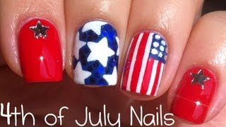 4th of July Nail Art Tutorial