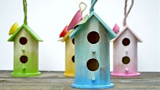How To Make Your Garden Pretty With These Birdhouses - Diy Home Tutorial - Guidecentral