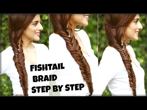 How To Easy Fishtail Braid Tutorial For Beginners For