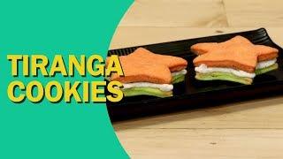Tiranga Cookies | Tricolour Cookies | तिरंगा कुकीज़ | Independence Day Recipe | Food Tak