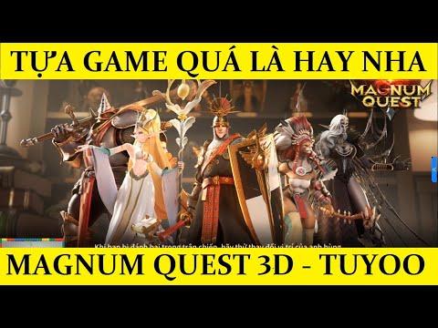 Magnum Quest - Tựa game chiến thuật đỉnh kout - Ra mắt 3 ngày có 500K lượt tải