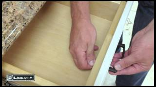 Liberty - Cabinet Drawer Pull Installation - Align Right Template