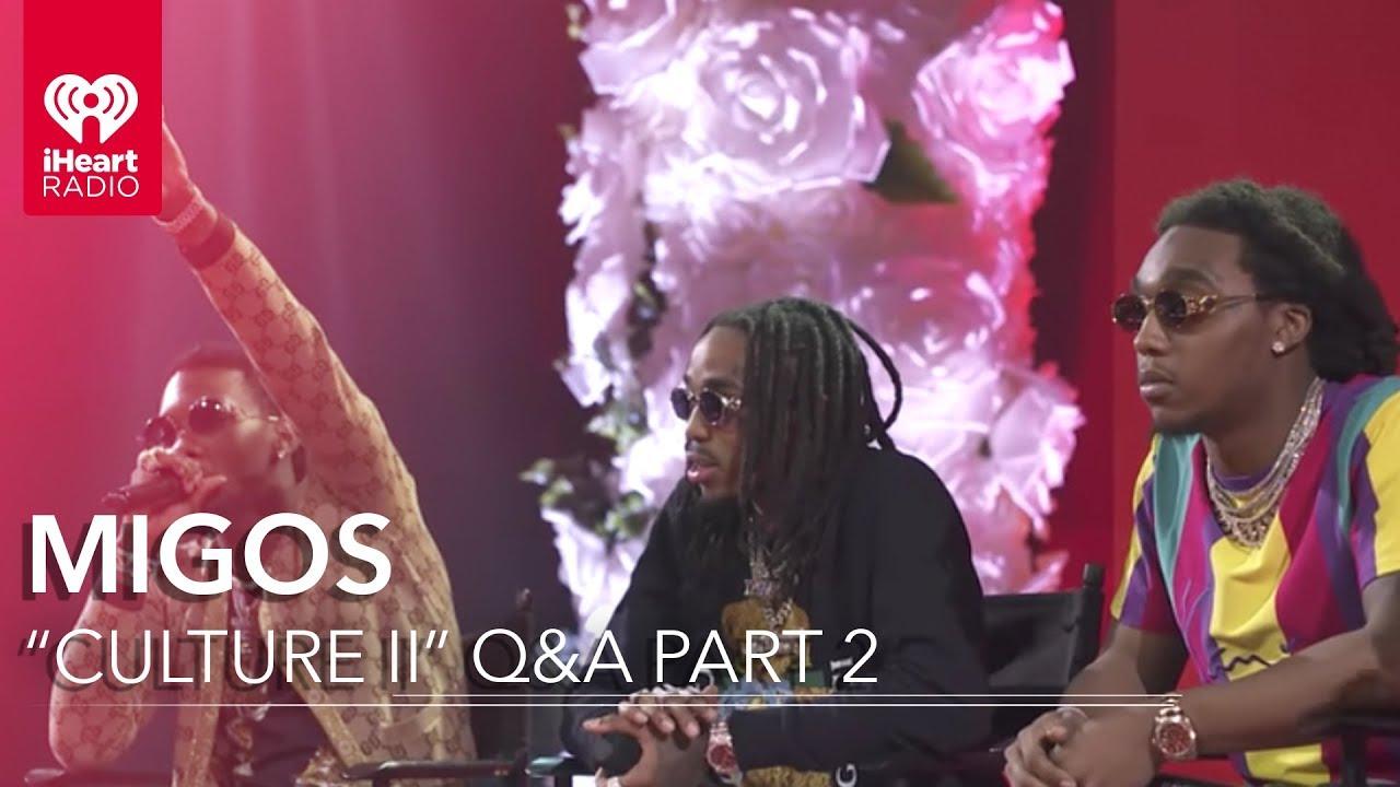 Migos 'Culture II' Interview - Part 2   iHeartRadio Album Release Party