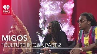 Migos Culture II Interview - Part 2 | iHeartRadio Album Release Party