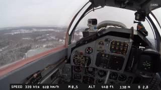 MiG-29 - Vuelo de la estratosfera. Vista en varios lados IV