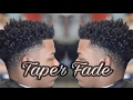 HOW TO | TAPER FADE | CURLY TOP
