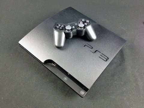 Sony PS3 Slim 320GB: Unboxing