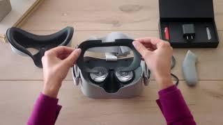 VirtuClear Prescription Lens Inserts for Oculus Go | Only at FramesDirect.com