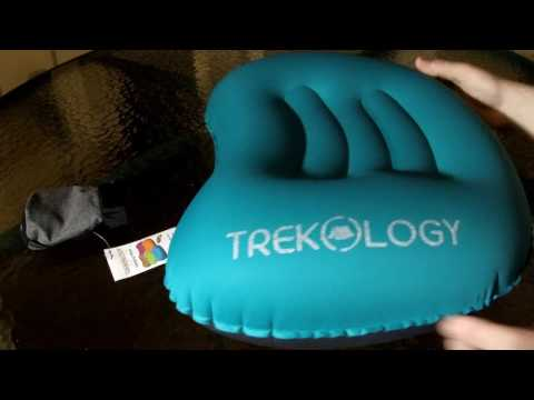 Trekology Compact Inflating Traveling Camping Pillow Review