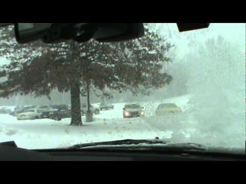 Snow Driving in Carrollton, MO