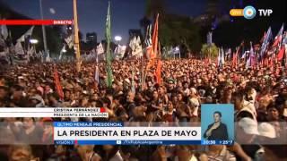 Último discurso de la presidenta Cristina Fernández de Kirchner