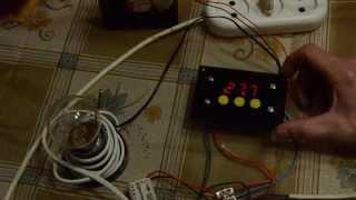 Как подключить терморегулятор 12 вольт к 220 вольт.Таганрогский живой уголок.(Любой терморегулятор 12 вольт подключается к 220 вольт.При этом можно комбинировать нагреватели и вентилятор..., 2015-02-28T20:45:47.000Z)