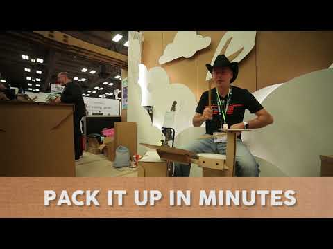 #SXSW Cardboard Drum Kit