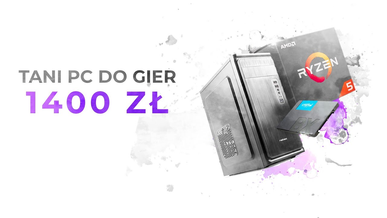 TEST PC za 1400 złotych | WoT, CS:GO, Fortnite, PUBG - EDYCJA 2019