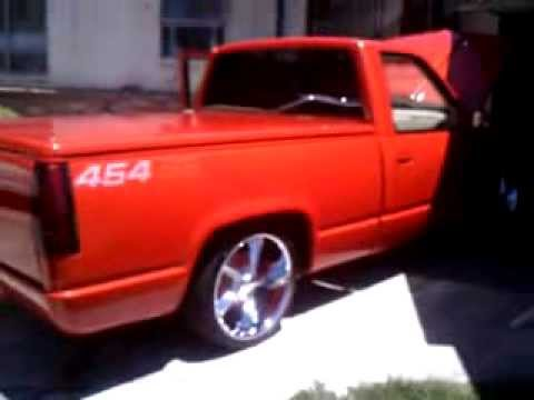 Chevy 454 ss truck - YouTube