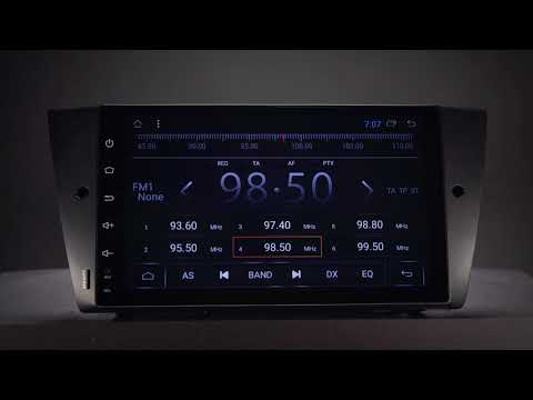 BMW - 9` Android 7 1 Car Stereo Review (PD9790BL)