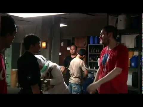 Четвертый ролик о создании фильма Рейд