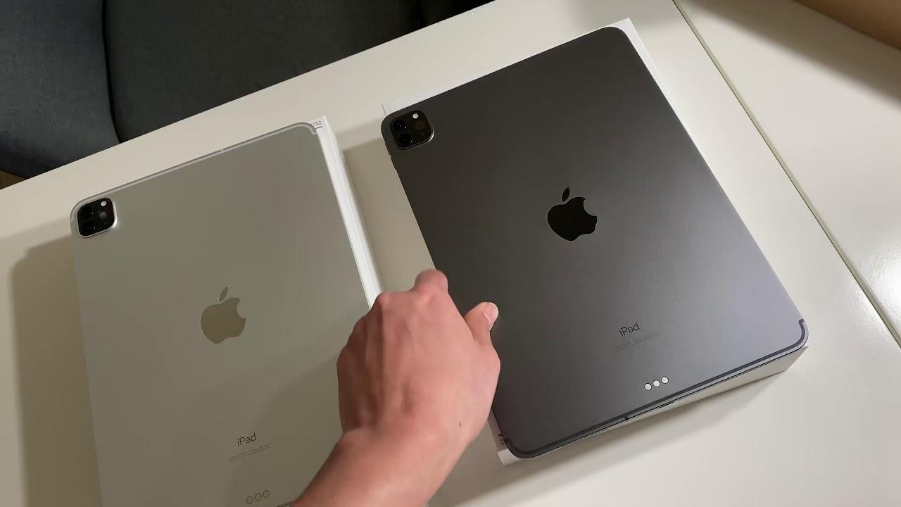 iPad Pro 2020, Silver VS Space Grey. Close Look !! - YouTube