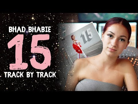 "BHAD BHABIE - ""15"" mixtape reacting to all songs 