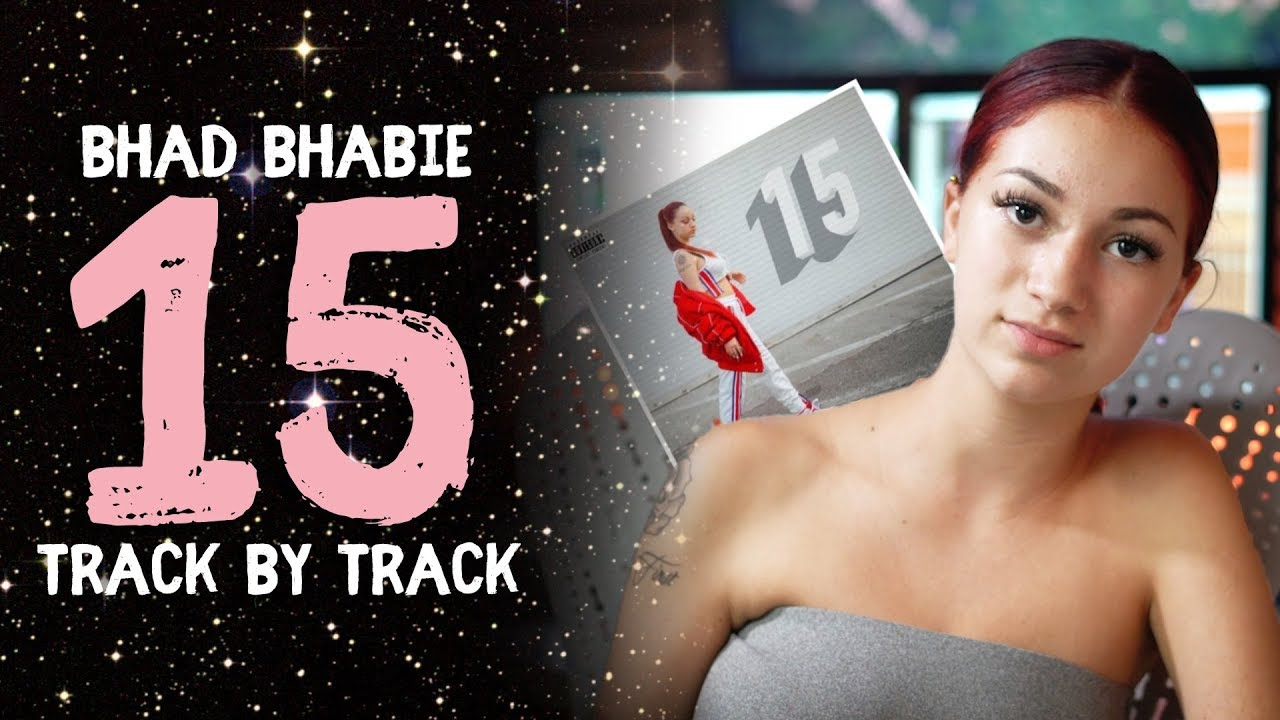 "BHAD BHABIE — ""15"" mixtape reacting to all songs 