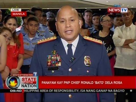 """Panayam kay PNP Chief Ronald """"Bato"""" Dela Rosa"""