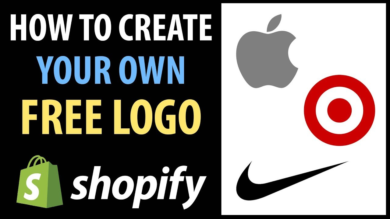 How To Create A Logo For Free Ify Dropshipping