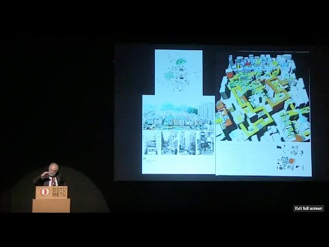 """Prof. D. Grahame Shane: """"Reconsidering Recombinant Urbanism in a Global Perspective"""""""