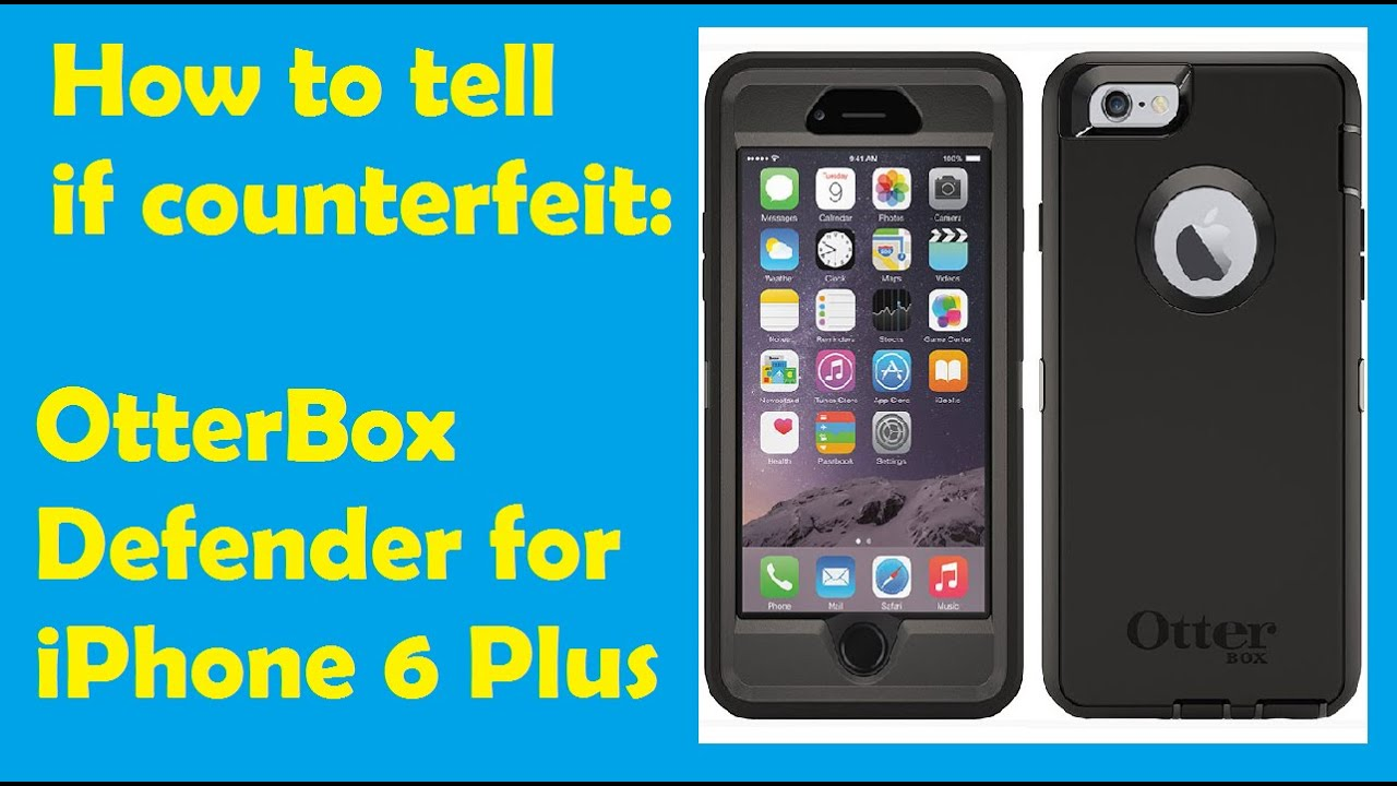 otterbox defender iphone 6 plus how to tell if counterfeit otterbox defender for iphone 6 17884