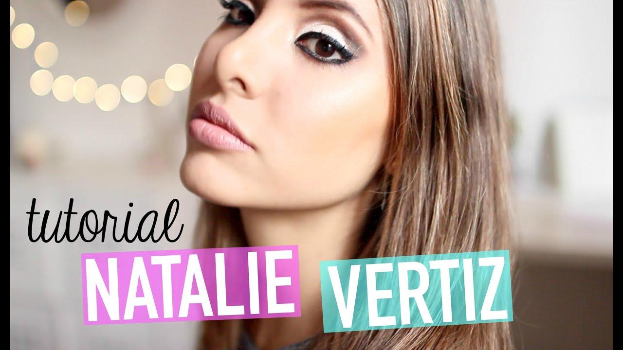 MAQUILLAJE NATALIE VERTIZ (TUTORIAL) | Valeria Basurco