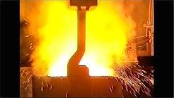 HISTORIAA  •  OVAKON Koverharin terästehdas 1982 / teräksen valmistus