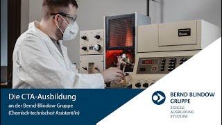 CTA Ausbildung - Chemisch-technischen Assistenten | Bernd Blindow Gruppe
