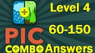 Pic Combo Level 4 60-105 Answers