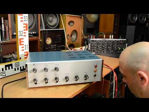 TOA TA-956 Amplifier TOA ELECTRIC CO.,LTD., KOBE, JAPAN