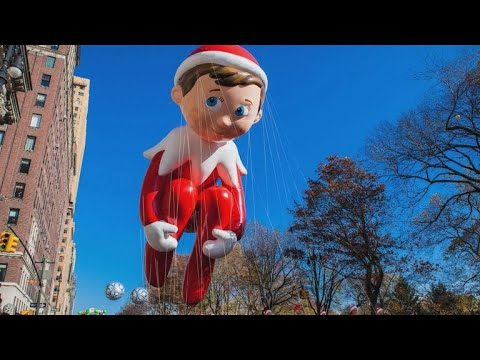 Thanksgiving Day Parade 2018: Crowds brave frigid temperatures
