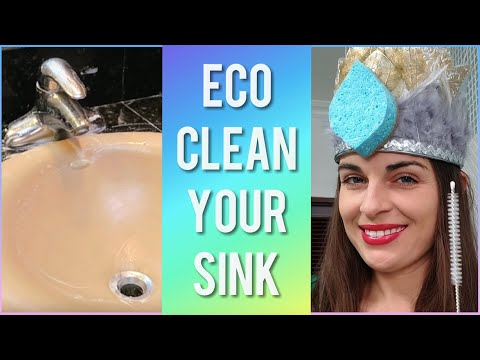 4 STEPS TO WASH THE SINK | SIMPLE ECO CLEANING