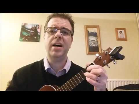 'Ukulele' Ben tutors 'The Irish Rover'