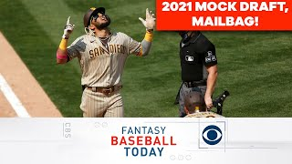 Our First 2021 MOCK DRAFT + Mailbag Questions | Fantasy Baseball Today