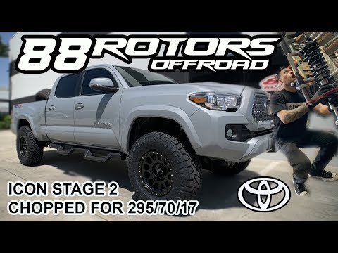 2019 Toyota Tacoma Icon Stage 2 CHOPPED for 295/70/17 Ridge Grapplers