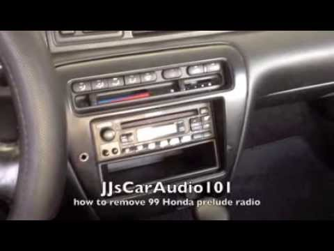 How To Remove 1999 Honda Prelude Radio