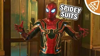 Breaking Down Spider-Man's New Suits in the Latest Far From Home Ads! (Nerdist News w/ Amy Vorpahl)