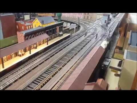 Interview with Joseph Frank NYC Manhattan Model Transit Trains