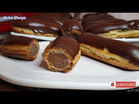 recette-facile-des-éclairs-au-chocolat-#pâteàchoux