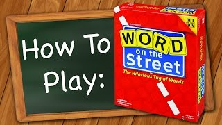 How to Play: Word on the Street