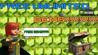 Clash of Clans - UNLIMITED GEMS! Free Gems In Clash! Fast & Easy!