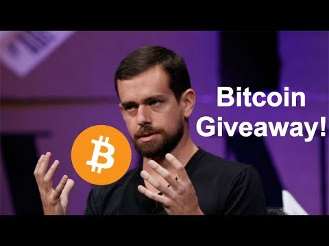 Jack Dorsey Says Bitcoin Will Be Worlds Currency In 10 Years - $200 Bitcoin Giveaway!