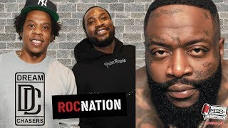 Rick Ross SALTY Meek Mill Signed With Jay-Z?!?!