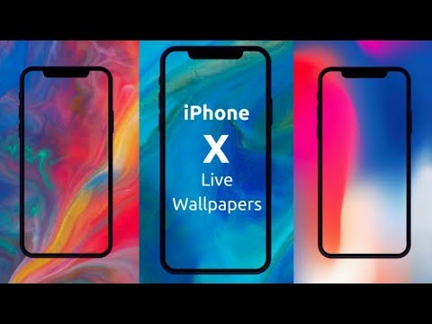 Get Iphone X Fluid Wallpapers For Any Android Youtube