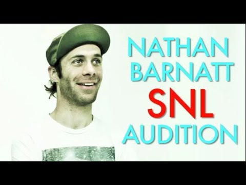 Nathan Barnatt SNL Audition