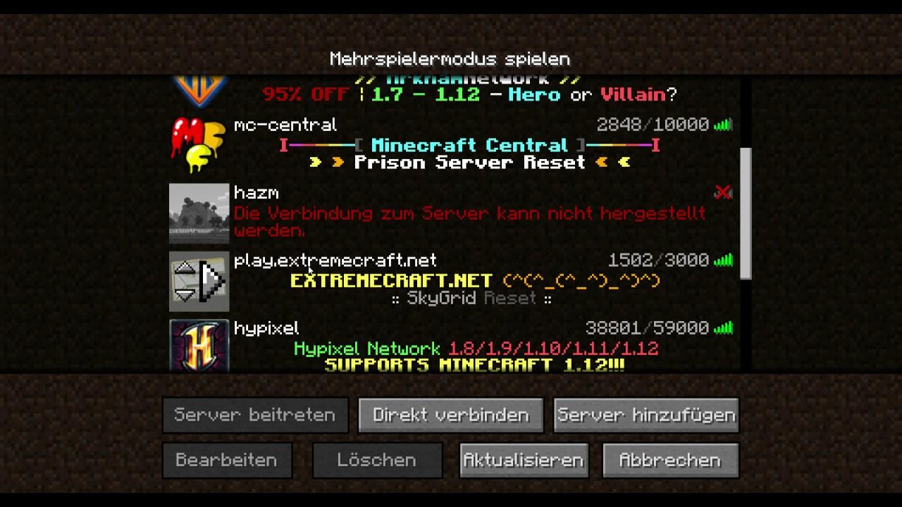 Minecraft GommeHD Server Machen Und Ip YouTube - Minecraft server erstellen wie gommehd